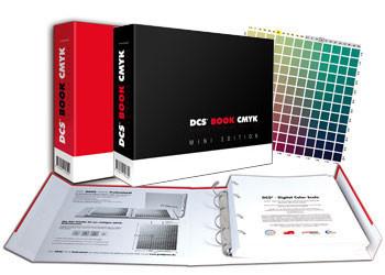 DCS - Digital Color Scale Mini CMYK Set