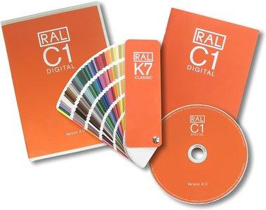 RAL Digital C1 software versie 4.0