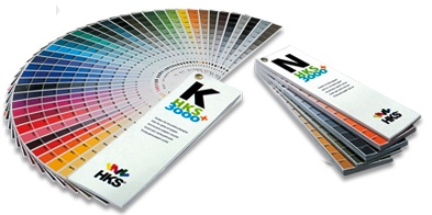 HKS Kleurenwaaier set van 3000+ K & 3000+ N