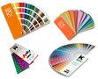 Vier populaire RAL en HKS kleurenwaaiers