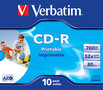 VERBATIM--CD-R-AZO-Wide-Inkjet-Printable-10-stuks-in-jewel-case